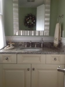 Cape cod bathroom remodel white wood kitchens for Cape cod bathroom ideas