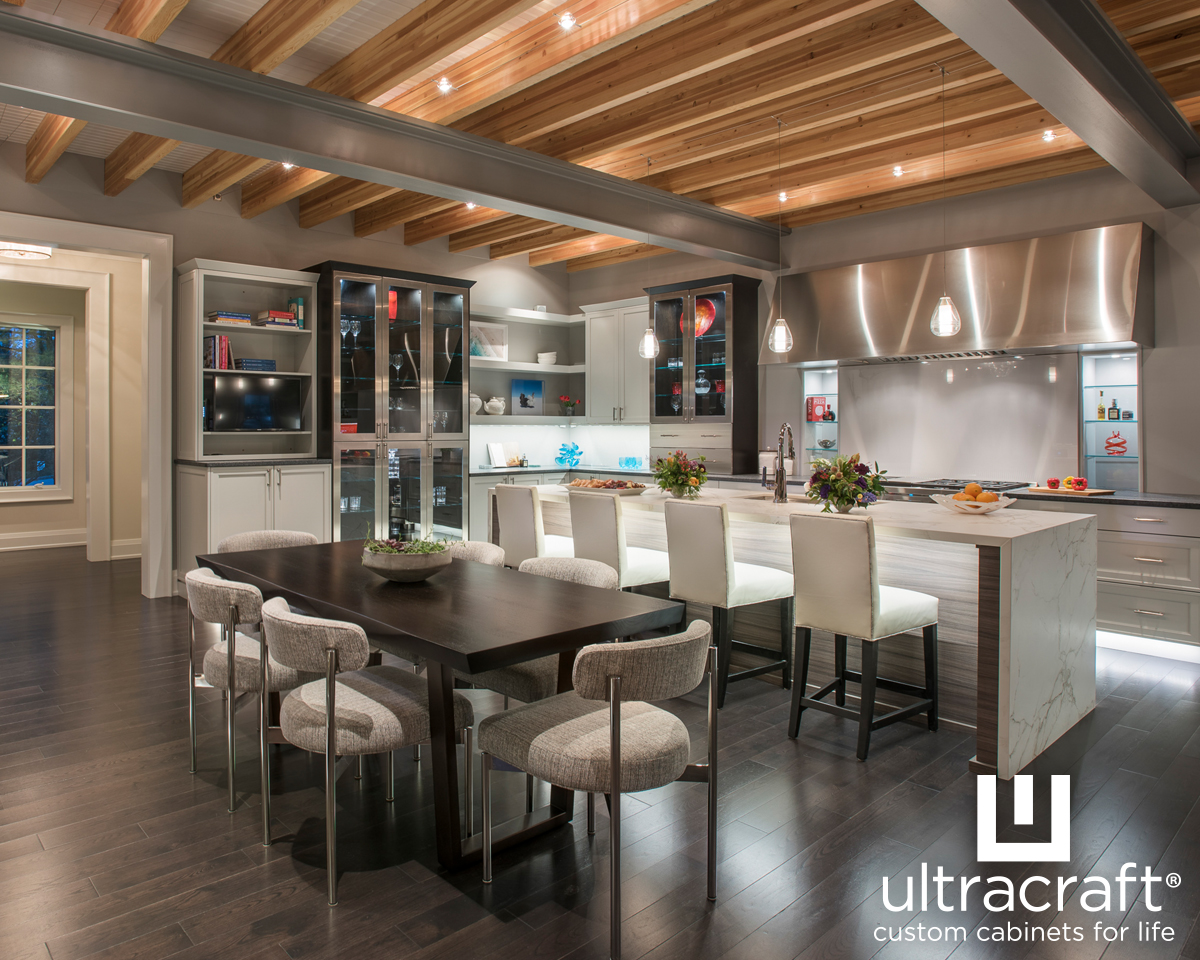 UltraCraft Cabinetry Is Full Access, Frameless Cabinetry. As Kitchen And  Bath Designers, We Rate UltraCraft Cabinetry High Because We Can Modify The  Height, ...