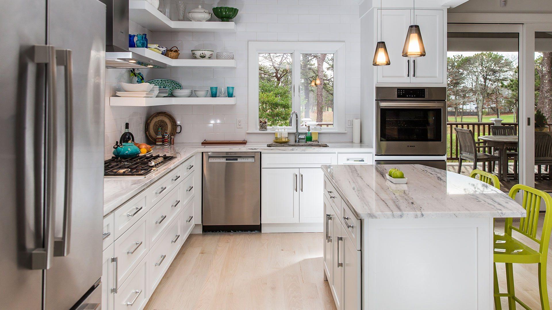 open concept kitchen plans